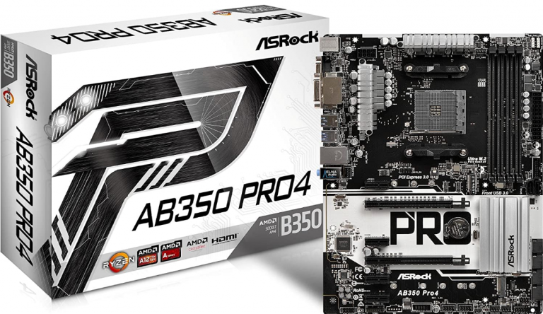 ASRock-AB350-PRO4-ATX-Motherboard