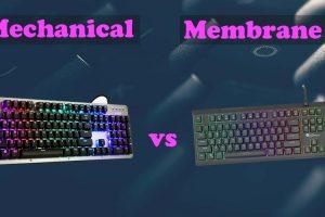 Mechanical keyboard vs Membrane Keyboard