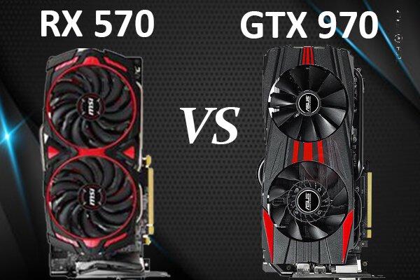 RX 570 vs GTX 970