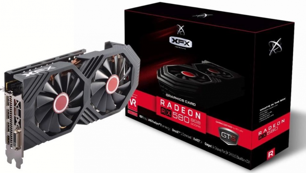 AMD RX 580 graphics card