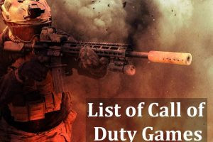 List of Call of Duty Games