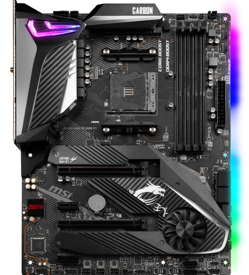 MSI MPG X570 Gaming Pro Carbon