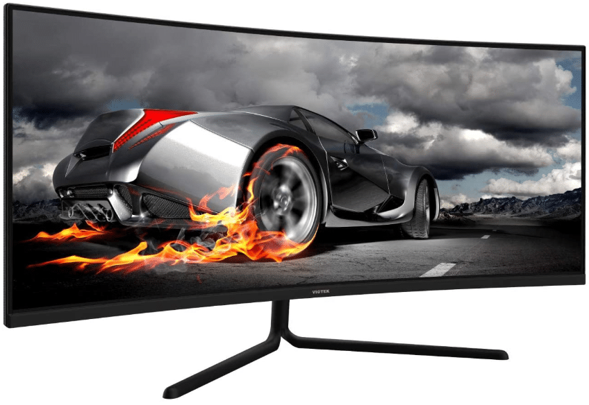 VIOTEK 34-Inch Ultrawide Curved Gaming Monitor