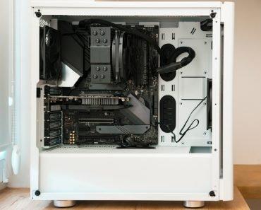 White PC Case