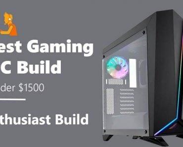 best gaming pc build under $1500