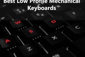 Low Profile Mechanical Keyboard