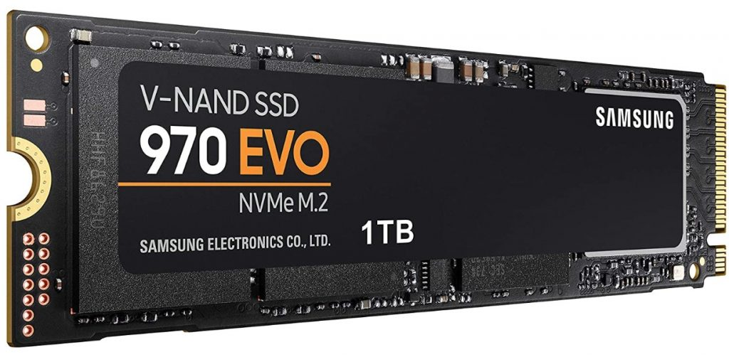 Samsung 970 EVO SSD 1TB ssd