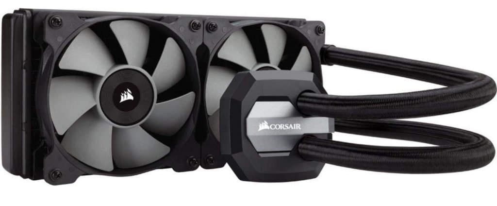 Corsair Hydro Series H100i liquid cpu cooler