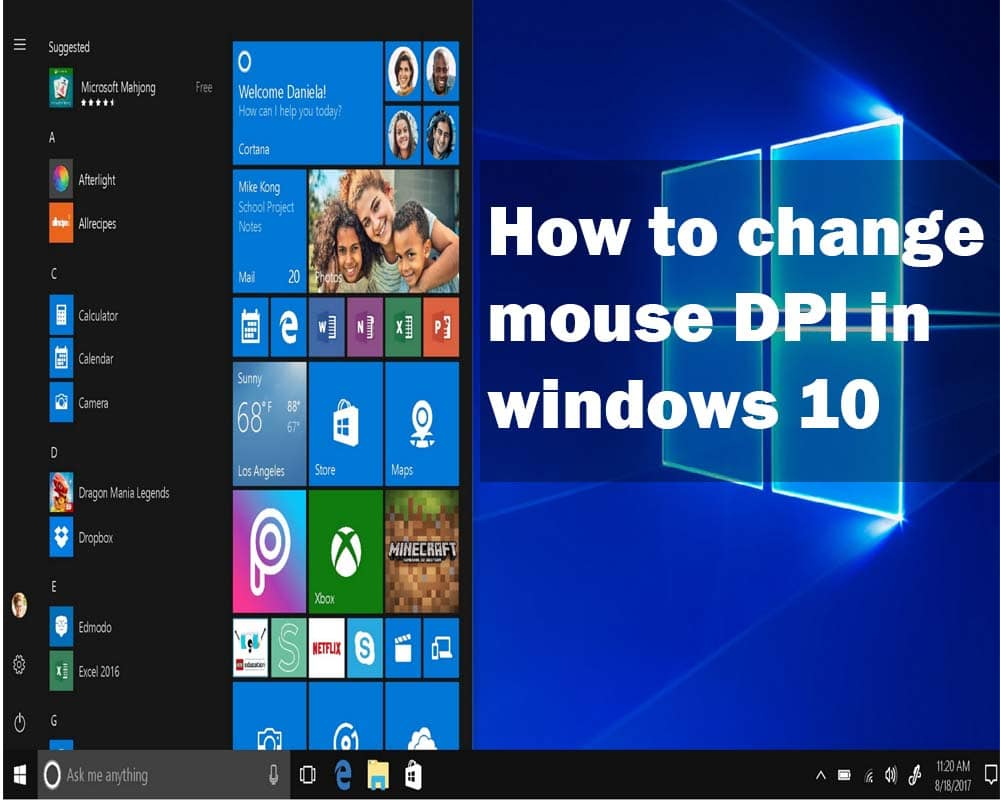 How to Change Mouse DPI