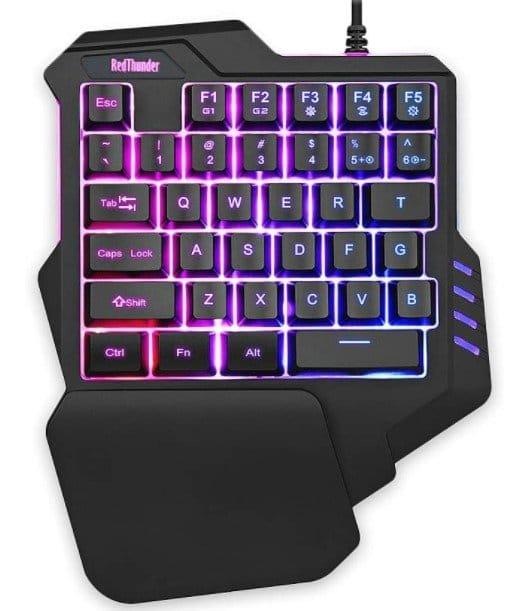 RedThunder-One-handed-gaming-keyboard