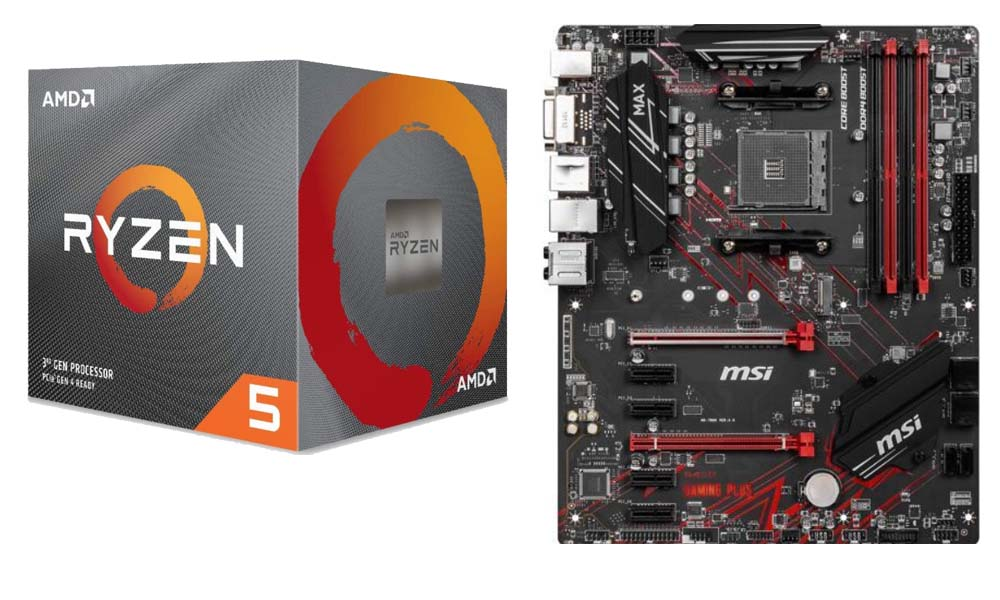 AMD Ryzen 5 2600 + MSI performance gaming B450 MAX