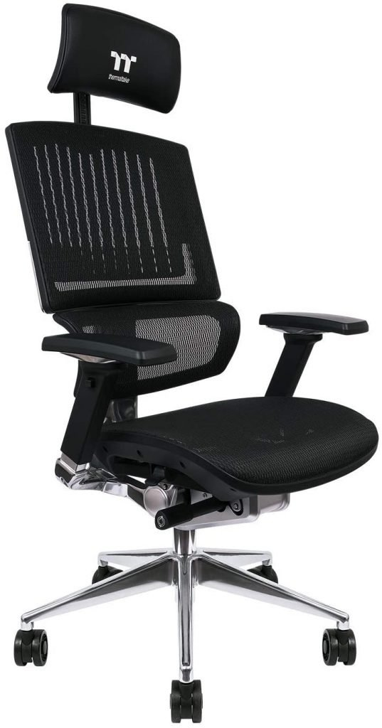 Thermaltake-X-Fit-Black-gaming-chair