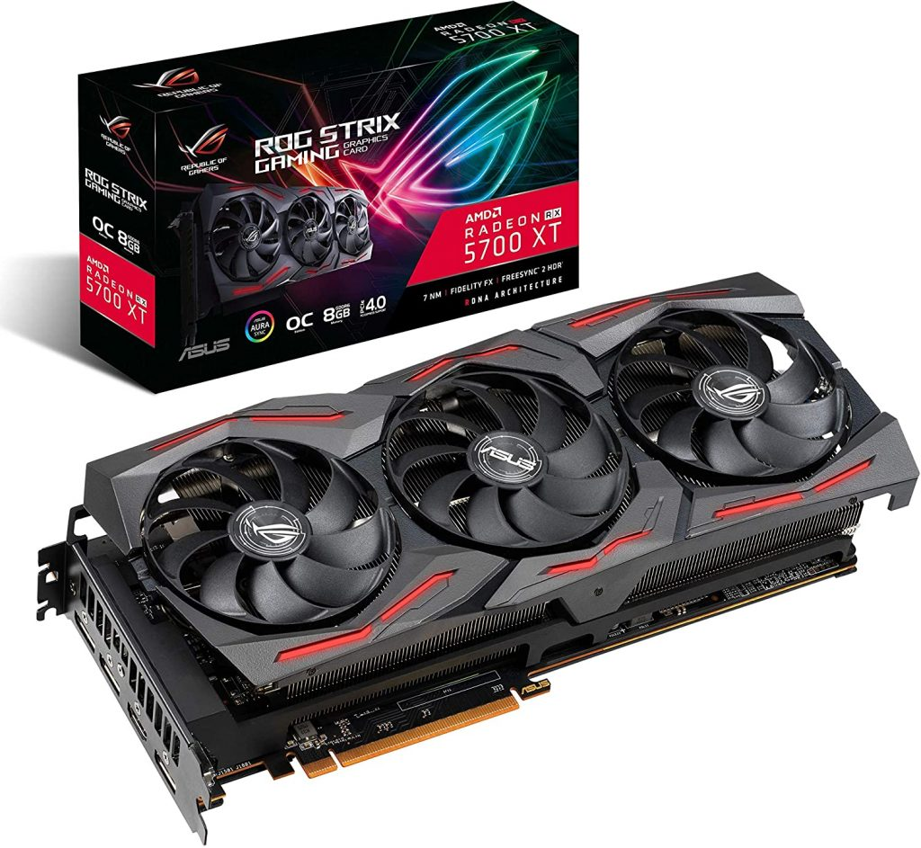 ASUS ROG Strix AMD Radeon RX 5700XT Overclocked