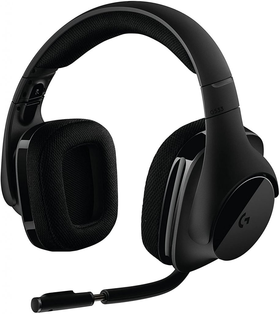 Logitech-G533-Wireless-gaming-headset