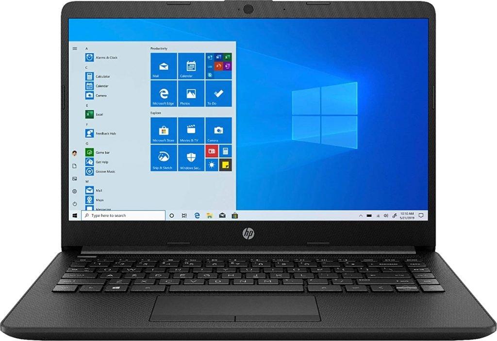 2020 HP 14 14 0 WLED Backlit Display Laptop AMD Athlon Silver