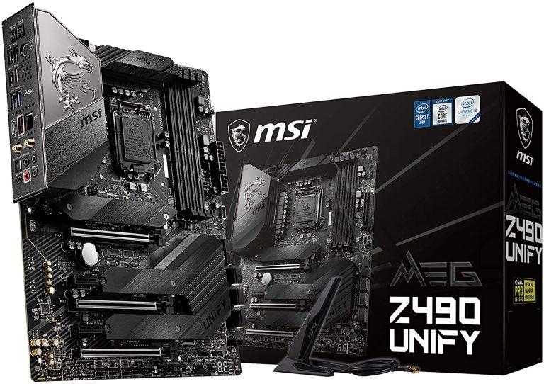 MSI-MEG-Z490-Unify