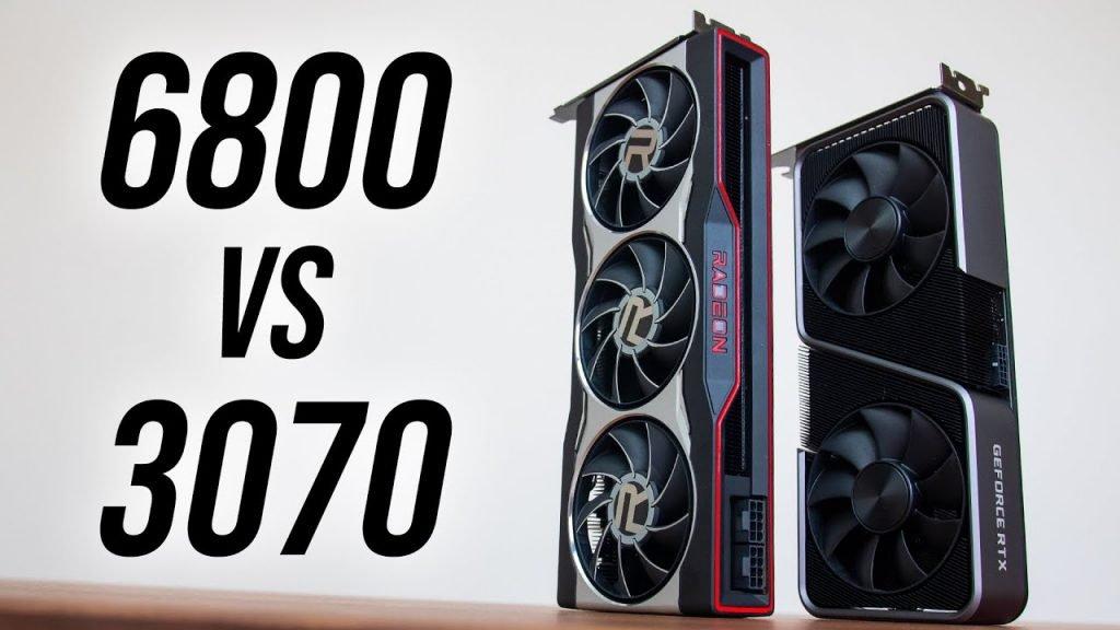 Radeon RX 6800 vs RTX 3070
