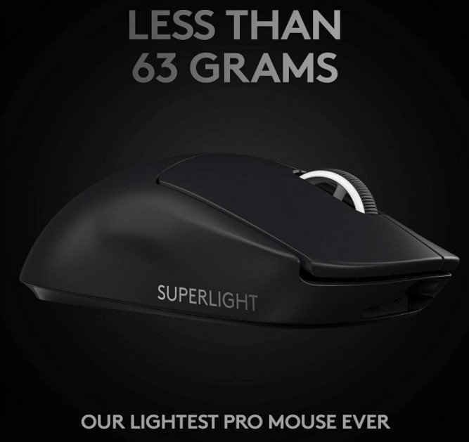 Logitech G Pro X Superlight Design