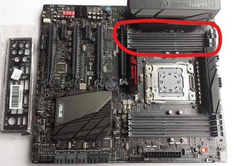 motherboard ram slots